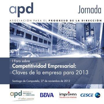 I Foro sobre Competitividad Empresarial