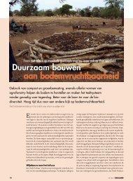 Duurzaam bouwen aan bodemvruchtbaarheid - Vwg.net