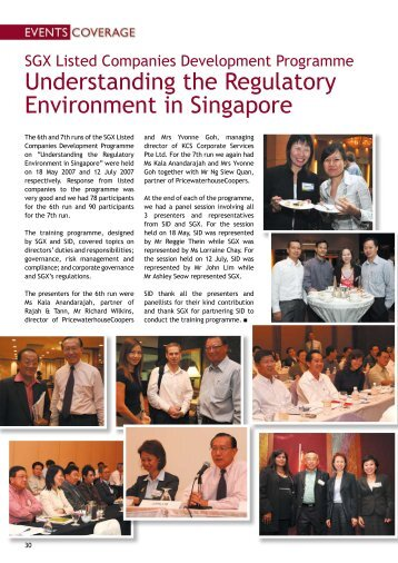 Events Coverage - Singapore Institute of Directors