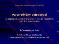 Az orrsövény betegségei.pdf - PTE ÁOK Fül-Orr-Gégészeti és Fej ...