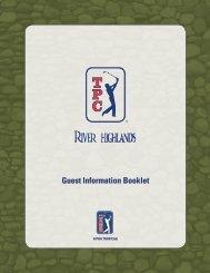 Guest Information Booklet - Cybergolf
