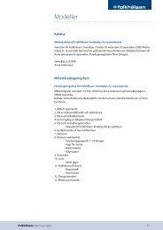 Föredragningslista och beslutsprotokoll - Folkhälsan