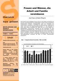 Statistik kurz gefasst - gendernow