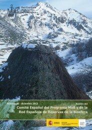 Boletín nº10. Red Española de Reservas de Biosfera