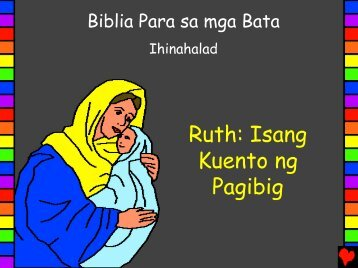 Ruth A Love Story Tagalog - Bible for Children