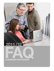FAQ 2011/ 12 - Algonquin College