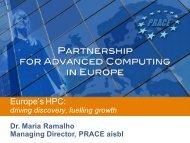 computing for scientific breakthroughs - prace