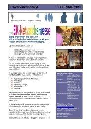 ErhvervsKvindeNyt FEBRUAR 2010 - Foreningen af Erhvervskvinder