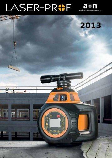 Download Laser-Prof katalog 2013 - andersen & nielsen as
