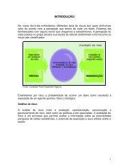 Avaliação de riscos. - Segurança e Medicina do Trabalho