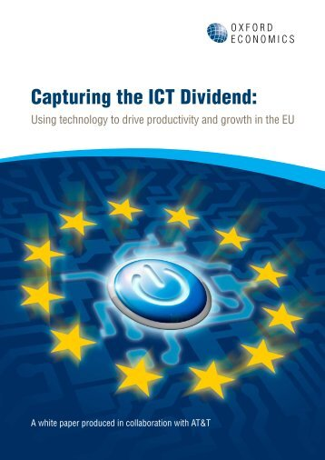 Capturing the ICT Dividend: - AT&T