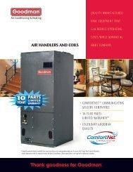 air handler brochure