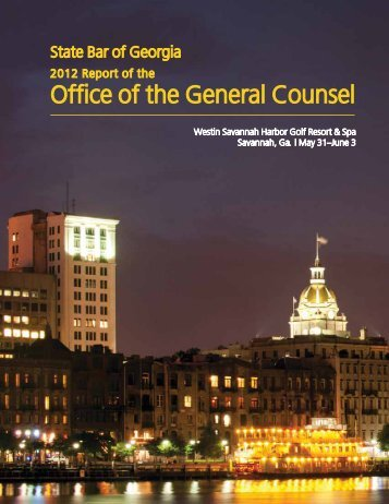 to view the 2011-12 OGC Annual Report. - State Bar of Georgia