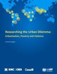 Researching-the-Urban-Dilemma-Baseline-study
