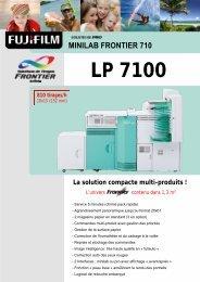 Fiche Produit Minilab Frontier 710