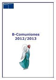B-Comuniones 2012/2013 - Barcelo.com