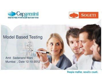 Model Based Testing - QAI