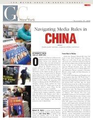 Navigating Media Rules in - Davis Wright Tremaine