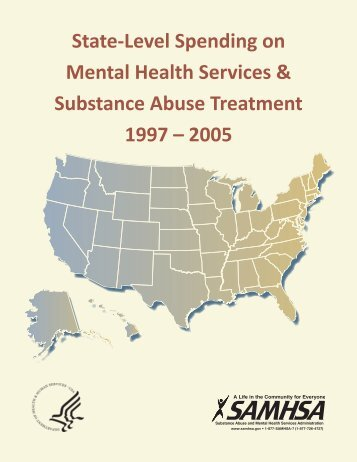 State-Level Spending on Mental Health Services & Substance ...