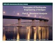 Principles of Earthquake Engineering of Bridges - 100th Anniversary ...