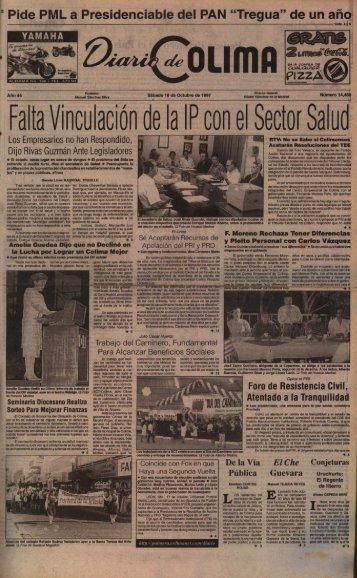 """Pide PML a Presidenciable del PAN """"Tregua"""" - Universidad de Colima"""
