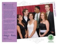 2013 Monroe County Guide to Prom Safety