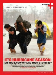 It's Hurricane Season: Do You Know Where Your Storm is?