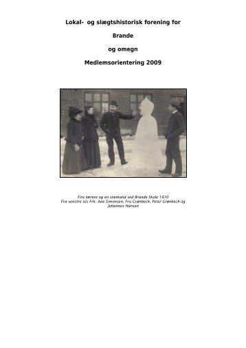 En bog om min familie - Brande Historie
