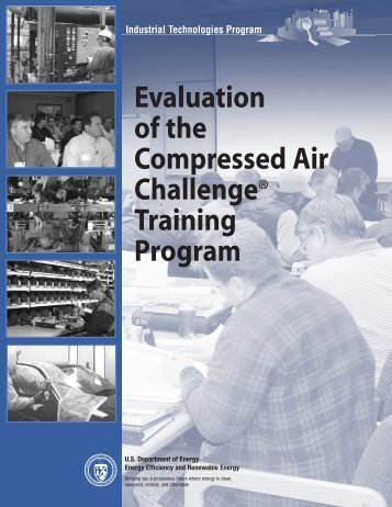 Evaluation of the  Compressed Air Challenge Training Program
