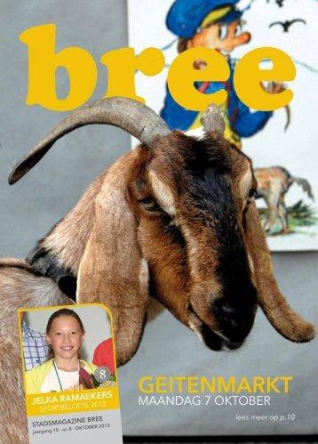 Stadsmagazine oktober 2013 - Stad Bree