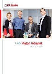 Funktionsüberblick CAS Platon Intranet