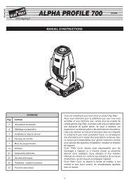 ALPHA PROFILE 700 C61365 - Clay Paky