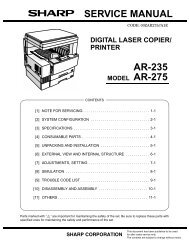 SERVICE MANUAL AR-235 - diagramas.diagram...