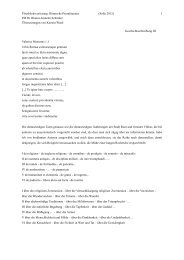Tacitus - Die Homepage von PD Dr. Bianca-Jeanette Schröder