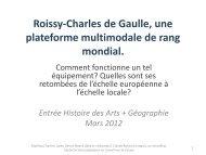 Projet RCDG - Histoire géographie Dijon