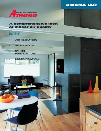 Consumer Brochure - Amana