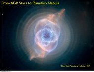 From AGB Stars to Planetary Nebula
