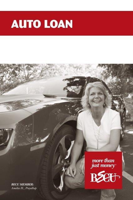 Becu Auto Loan >> Auto Loan Brochure Becu