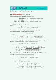 Poisson Equation - EqWorld - The World of Mathematical Equations