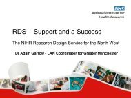 RDS – Support and a Success