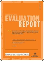 evaluation of general food distribution in northern uganda: gulu ...