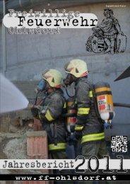 Jahresbericht 2011 - Freiwillige Feuerwehr Ohlsdorf