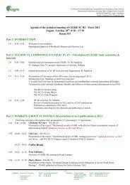 Technical Meeting Agenda - Technical Advisory Group B2