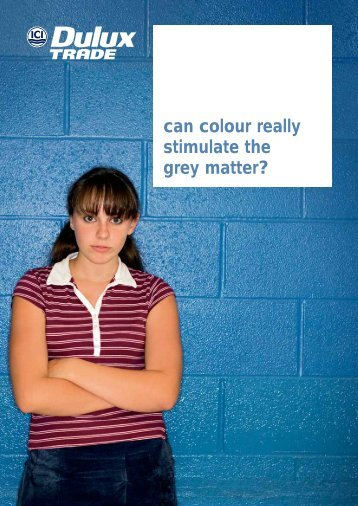 Can colour really stimulate grey matter? - Duluxtrade.ie
