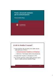 (Microsoft PowerPoint - InformazioniGenerali-aa2012-2013_IIsem ...