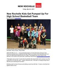 New Rochelle Kids Get Pumped Up For High School Basketball ...