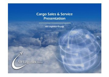 air logistics group presentation