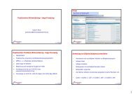 Projektseminar Bildverarbeitung – Image Processing Projektseminar ...