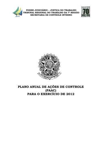 2012 - Tribunal Regional do Trabalho 7ª Região