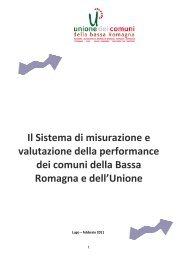 il sistema di misurazione e valutazione delle performance dell ...